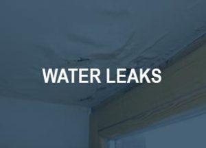 water leak plumber